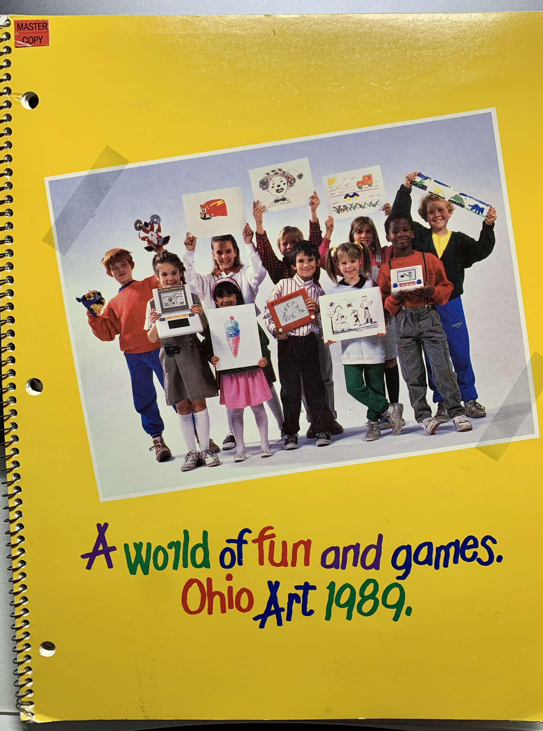 Ohio Art 1989 Catalog cover
